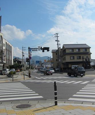 須坂市交差点イメージ