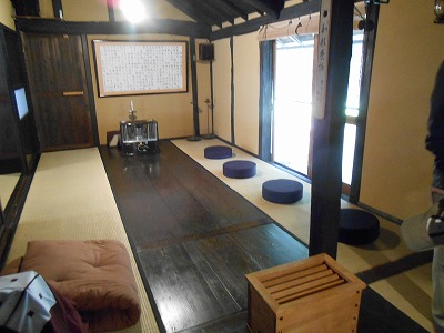 瞑想体験の教室