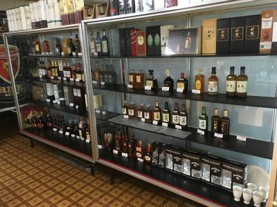 店内ディスプレイ ウイスキー
