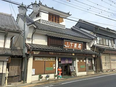 店舗外観 歴史的建物