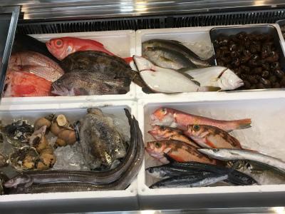 新鮮な魚介が豊富
