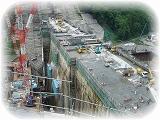 現在工事中の八ッ場ダム