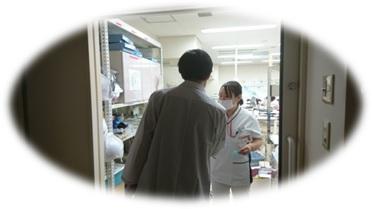 堀田先生と看護師さん対応