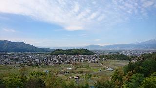 坂田山から