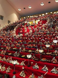 須坂アートパーク「三十段飾り千体の雛祭り」開催されます!