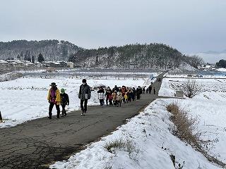 信州須坂《新春ウォーキング》