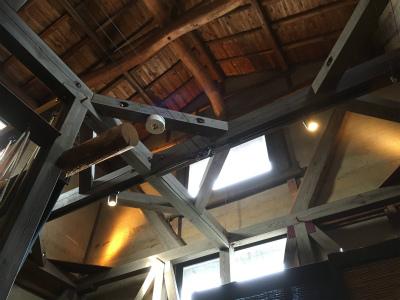 店内天井写真