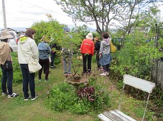 2021年5月11日ガーデンつくり講習会写真2