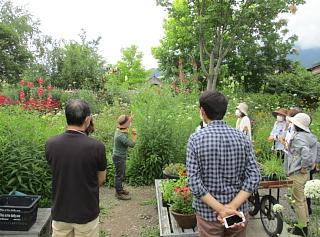 2021年7月6日ガーデンつくり講習会写真1